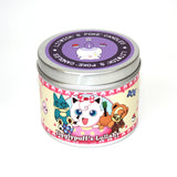 Jigglypuff's lullaby scented pokemon candle by Happy Piranha