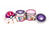 Jigglypuff pokemon  inspired scented candle by Happy Piranha