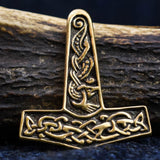Jorvik Thor's Hammer (Bronze) Viking Pendant | Happy Piranha