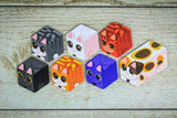 Kitty Paw Card Game cube kitten tokens