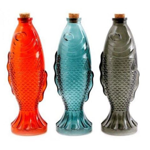 Koi Fish Ornamental Bottles 3 Set | Happy Piranha