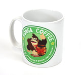 Nintendo donkey kong inspired coffee mug by Happy Piranha