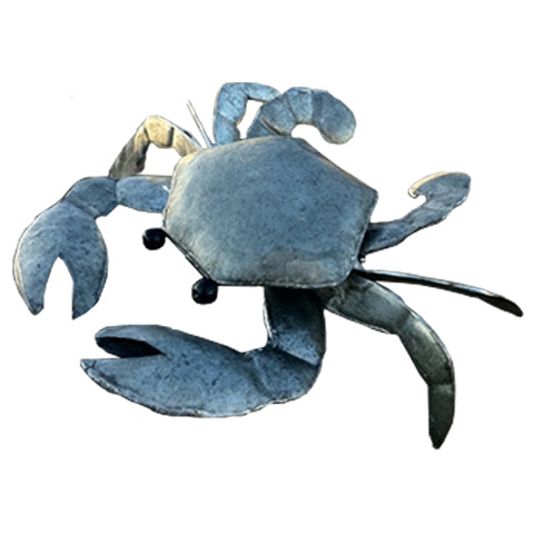 Large Colin The Crab Metal Ornament  | Happy Piranha