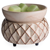 Lattice: 2-in-1 Electric Wax Melt and Candle Warmer | Happy Piranha