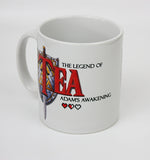 The Legend of tea zelda inspired mug by Happy Piranha.