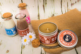 Lon lon range chocolate zelda inspired scented candle by Happy Piranha