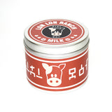 Chocolate lon lon milk zelda scented candle by Happy Piranha