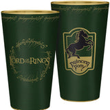 Large Lord of the Rings Prancing Pony Glass Front and Back Design | Happy Piranha