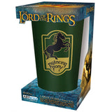 Large Lord of the Rings Prancing Pony Glass in its Packaging | Happy Piranha