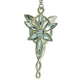 Arwen's Evenstar Lord Of The Rings Keychain close up | Happy Piranha
