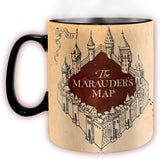 Harry Potter Marauders Map Heat Change Mug | Happy Piranha