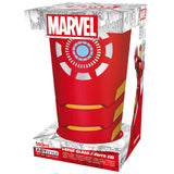 Large Marvel Avengers Iron Man Glass in Packaging | Happy Piranha