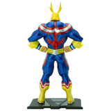 My Hero Academia - All Might 1:10 Scale Action Figure Back View | Happy Piranha