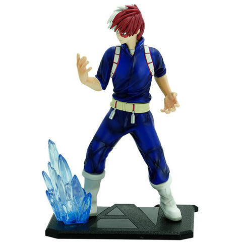 My Hero Academia - Shoto Todoroki 1:10 Scale Action Figure | Happy Piranha
