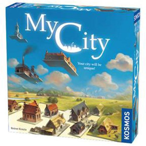 My City Board Game | Happy Piranha