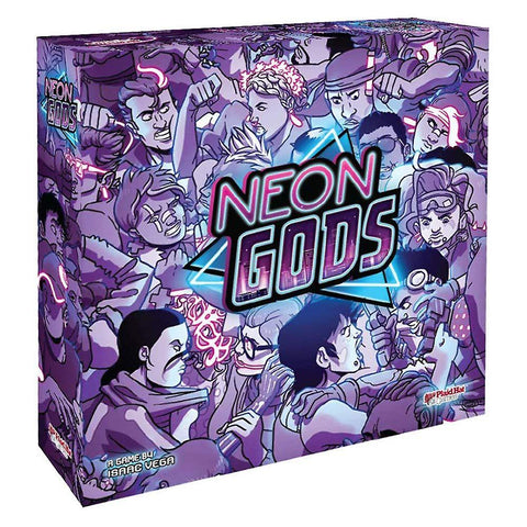Neon Gods Board Game | Happy Piranha