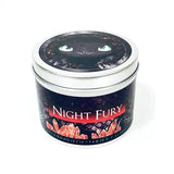 Night Fury scented candle by Happy Piranha