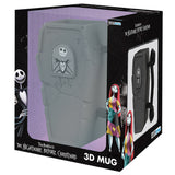 Jack's Tombstone - 3D Nightmare Before Christmas Mug in its Packaging | Happy Piranha