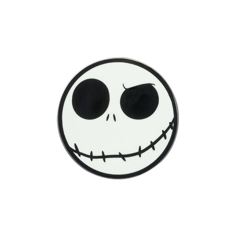 Nightmare Before Christmas Jack Skellington Pin Badge | Happy Piranha