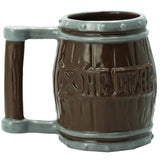 One Piece Barrel 3D  Mug Back View | Happy Piranha