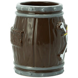 One Piece Barrel 3D  Mug Side Profile | Happy Piranha