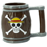 One Piece Barrel 3D  Mug | Happy Piranha