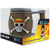One Piece Barrel 3D  Mug in its Packaging | Happy Piranha