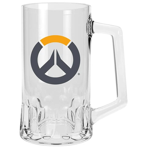 Overwatch Logo Glass Tankard | Happy Piranha