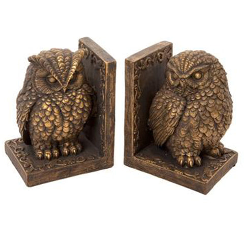 Pair of Owl Bookends | Happy Piranha
