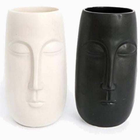 Tall Pagan Face Vase | Happy Piranha