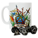 Dungeons and Dragons DnD Paladin Class Mug | Happy Piranha