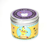 Pikachu's pokeberry pie scented candle by Happy Piranha