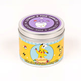 Pikachu inspired scented candle by Happy Piranha