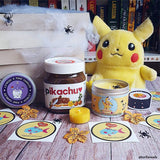 Pokemon pikachu inspired scented candle by Happy Piranha.