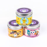Pokemon inspired scented candle three set by Happy Piranha
