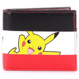 Pikachu Stripe Bifold Pokemon Wallet | Happy Piranha