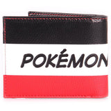 Pikachu Stripe Bifold Pokemon Wallet Back Design | Happy Piranha