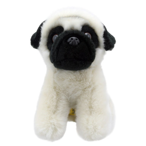Patient Pug Mini Soft Toy | Happy Piranha