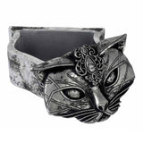 Sacred Cat Trinket Box With Lid Off | Happy Piranha