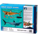 Great White Shark Anatomy - 3D Anatomical Model Back of Packaging | Happy Piranha