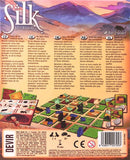 Silk Board Game Back of Box Artwork | Happy Piranha