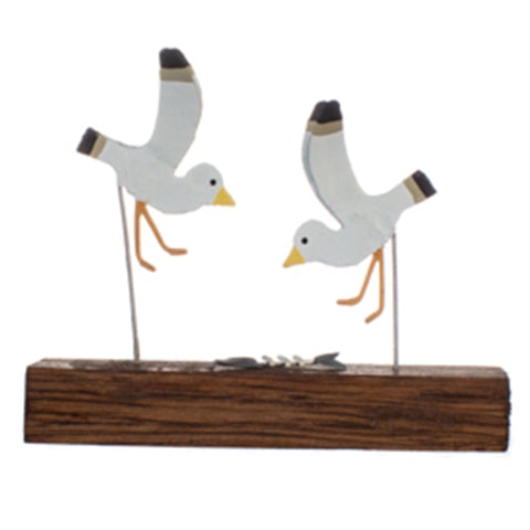 Slim Pickings:  Seagulls and Fish bone Ornament | Happy Piranha