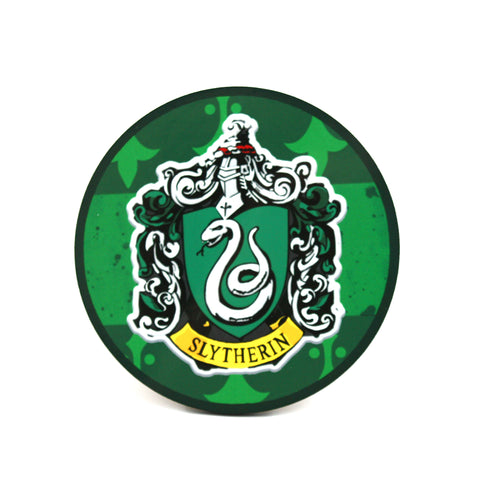Slytherin Hogwarts House Harry Potter Coaster | Happy Piranha