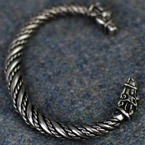 Sleipnir, Odin's Steed: Small Pewter Viking Bracelet | Happy Piranha