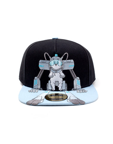Snowball Rick and Morty Snapback Baseball Cap | Happy Piranha