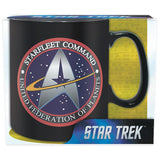 Star Trek Starfleet Command Mug in its Packaging | Happy Piranha