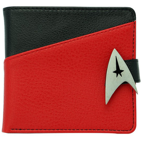 Premium Star Trek Commander Bifold Wallet | Happy Piranha