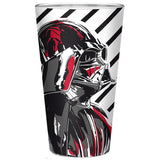 Large Star Wars Darth Vader Glass | Happy Piranha