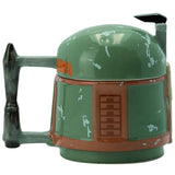 Boba Fett's Helmet - 3D Star Wars Mug Back View | Happy Piranha