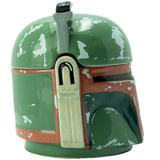 Boba Fett's Helmet - 3D Star Wars Mug Side Profile | Happy Piranha
